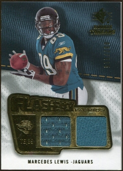 2008 Upper Deck SP Rookie Threads Flashback Fabrics #FFML Marcedes Lewis /115
