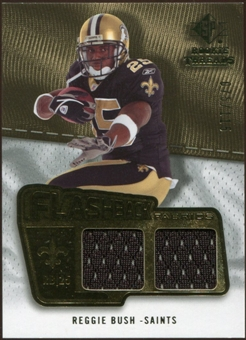 2008 Upper Deck SP Rookie Threads Flashback Fabrics #FFRB Reggie Bush /115