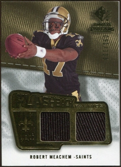 2008 Upper Deck SP Rookie Threads Flashback Fabrics #FFRM Robert Meachem /115