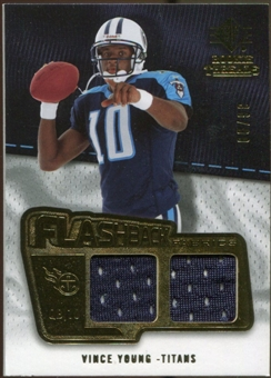 2008 Upper Deck SP Rookie Threads Flashback Fabrics #FFVY Vince Young /99
