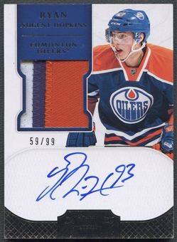 2011/12 Dominion #188 Ryan Nugent-Hopkins Rookie Patch Auto #59/99