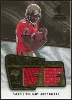 2008 Upper Deck SP Rookie Threads Flashback Fabrics 175-200 #FFCW Cadillac Williams /200
