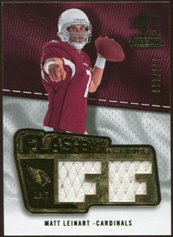 2008 Upper Deck SP Rookie Threads Flashback Fabrics #FFLE Matt Leinart /200