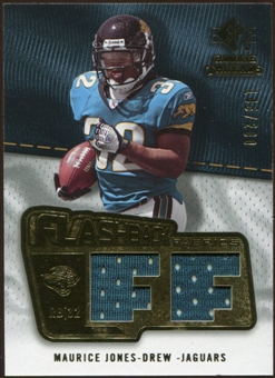2008 Upper Deck SP Rookie Threads Flashback Fabrics 175-200 #FFMJ Maurice Jones-Drew /200