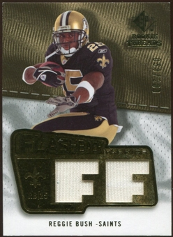2008 Upper Deck SP Rookie Threads Flashback Fabrics 175-200 #FFRB Reggie Bush /200