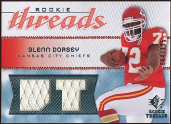 2008 Upper Deck SP Rookie Threads Rookie Threads #RTGD Glenn Dorsey /125