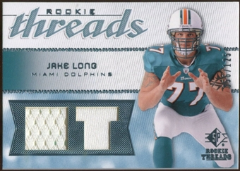 2008 Upper Deck SP Rookie Threads Rookie Threads #RTJL Jake Long /125