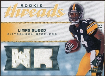 2008 Upper Deck SP Rookie Threads Rookie Threads #RTLS Limas Sweed /125