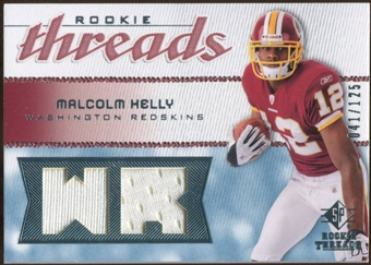 2008 Upper Deck SP Rookie Threads Rookie Threads 125 #RTMK Malcolm Kelly /125