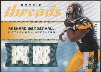2008 Upper Deck SP Rookie Threads Rookie Threads #RTRM Rashard Mendenhall /125