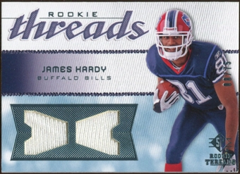 2008 Upper Deck SP Rookie Threads Rookie Threads #RTJH James Hardy /75