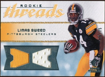2008 Upper Deck SP Rookie Threads Rookie Threads #RTLS Limas Sweed 16/75