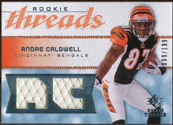 2008 Upper Deck SP Rookie Threads Rookie Threads #RTAC Andre Caldwell /199