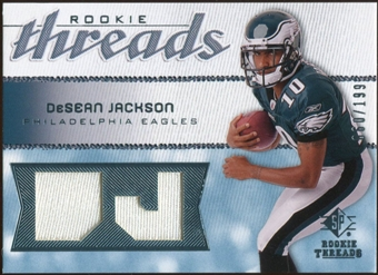 2008 Upper Deck SP Rookie Threads Rookie Threads #RTDJ DeSean Jackson /199