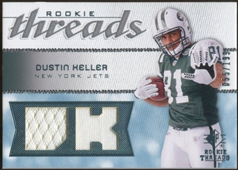 2008 Upper Deck SP Rookie Threads Rookie Threads #RTDK Dustin Keller /199