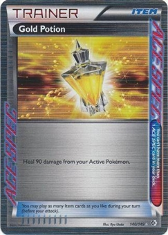 Pokemon Boundries Crossed Single Trainer Gold Potion 140/149