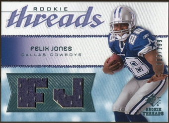 2008 Upper Deck SP Rookie Threads Rookie Threads #RTFJ Felix Jones /199