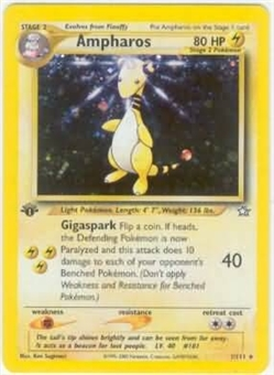 Pokemon Neo Genesis 1st Edition Single Ampharos 1/111