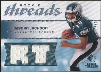 2008 Upper Deck SP Rookie Threads Rookie Threads #RTDJ DeSean Jackson /250