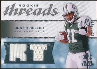 2008 Upper Deck SP Rookie Threads Rookie Threads #RTDK Dustin Keller /250