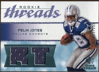 2008 Upper Deck SP Rookie Threads Rookie Threads 250 #RTFJ Felix Jones /250