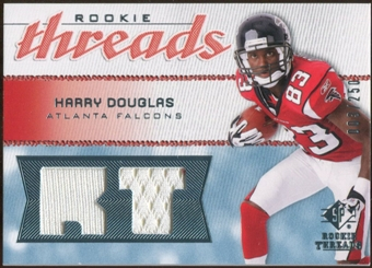2008 Upper Deck SP Rookie Threads Rookie Threads #RTHD Harry Douglas /250