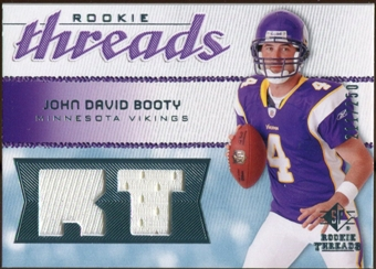 2008 Upper Deck SP Rookie Threads Rookie Threads #RTJB John David Booty /250