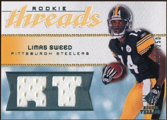 2008 Upper Deck SP Rookie Threads Rookie Threads #RTLS Limas Sweed 127/250