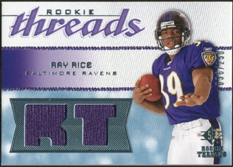 2008 Upper Deck SP Rookie Threads Rookie Threads #RTRR Ray Rice /250