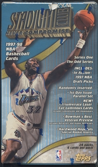 1997/98 Topps Stadium Club Series 1 Basketball Retail Box