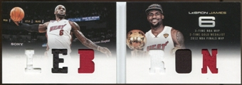 2012/13  Panini Preferred LeBron Memorabilia #1 LeBron James 111/199