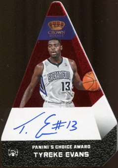 2012/13  Panini Preferred #97 Tyreke Evans PC Autograph 19/25