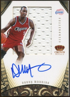 2012/13  Panini Preferred #231 Danny Manning Jersey Autograph 20/25