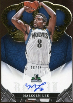 2012/13  Panini Preferred Gold #476 Malcolm Lee CR Autograph 16/25