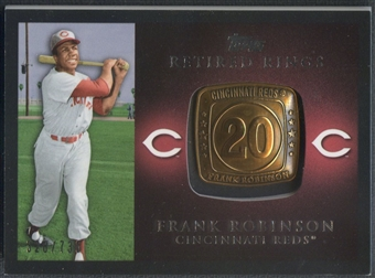 2012 Topps #FRO Frank Robinson Retired Rings #328/736