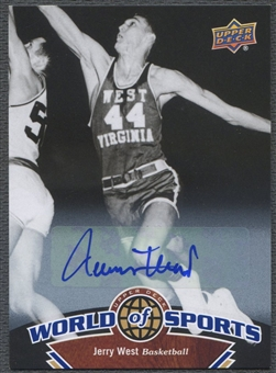 2010 Upper Deck World of Sports #11 Jerry West Auto