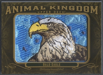 2011 Upper Deck Goodwin Champions #AK1 Bald Eagle Animal Kingdom Patch