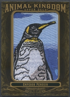 2011 Upper Deck Goodwin Champions #AK2 Emperor Penguin Animal Kingdom Patch