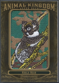 2011 Upper Deck Goodwin Champions #AK3 Koala Bear Animal Kingdom Patch