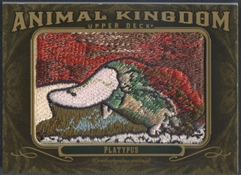 2011 Upper Deck Goodwin Champions #AK4 Platypus Animal Kingdom Patch