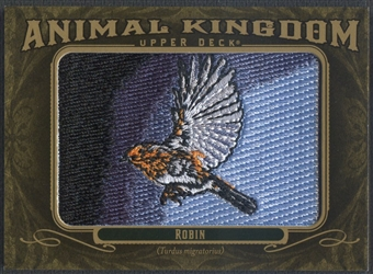 2011 Upper Deck Goodwin Champions #AK5 Robin Animal Kingdom Patch