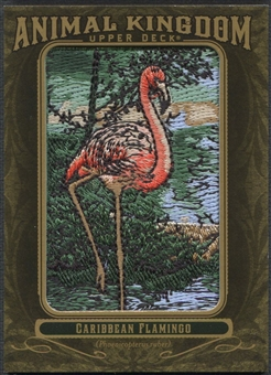 2011 Upper Deck Goodwin Champions #AK8 Caribbean Flamingo Animal Kingdom Patch