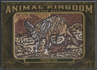 2011 Upper Deck Goodwin Champions #AK10 Fennec Fox Animal Kingdom Patch