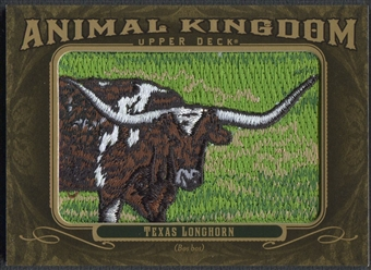 2011 Upper Deck Goodwin Champions #AK17 Texas Longhorn Animal Kingdom Patch