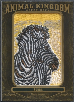 2011 Upper Deck Goodwin Champions #AK19 Zebra Animal Kingdom Patch