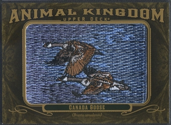 2011 Upper Deck Goodwin Champions #AK20 Canada Goose Animal Kingdom Patch