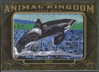 2011 Upper Deck Goodwin Champions #AK21 Orca Animal Kingdom Patch
