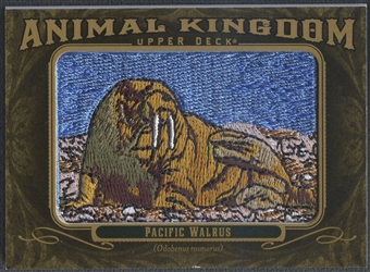 2011 Upper Deck Goodwin Champions #AK22 Pacific Walrus Animal Kingdom Patch