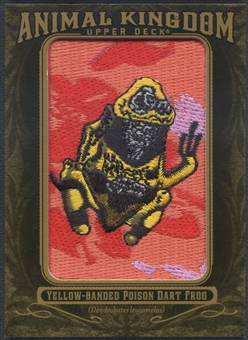 2011 Upper Deck Goodwin Champions #AK23 Yellow-Banded Poison Dart Frog Animal Kingdom Patch