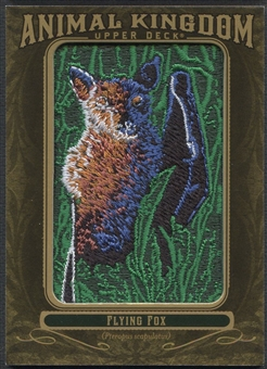 2011 Upper Deck Goodwin Champions #AK26 Flying Fox Animal Kingdom Patch